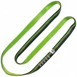 Image of the Kong ARO SLING TUBULAR Black/Green 60 cm