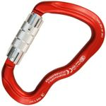 Image of the Kong FERRATA TWIST LOCK Red/Polished/Polished