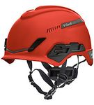 Image of the MSA V-Gard® H1 Safety Helmet Trident Red
